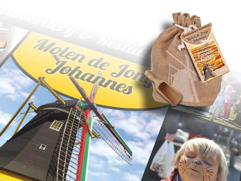 De Jonge Johannes verpakkingen. Grafische vormgeving door La Dolce Vita Zeeland