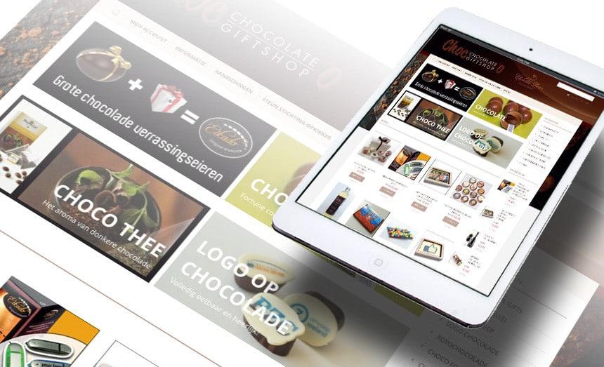 Webshop Chocolate Giftshop