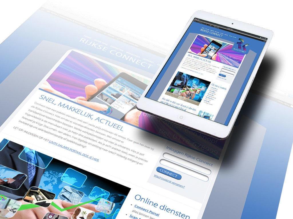 Webdesign Rijkse Connect