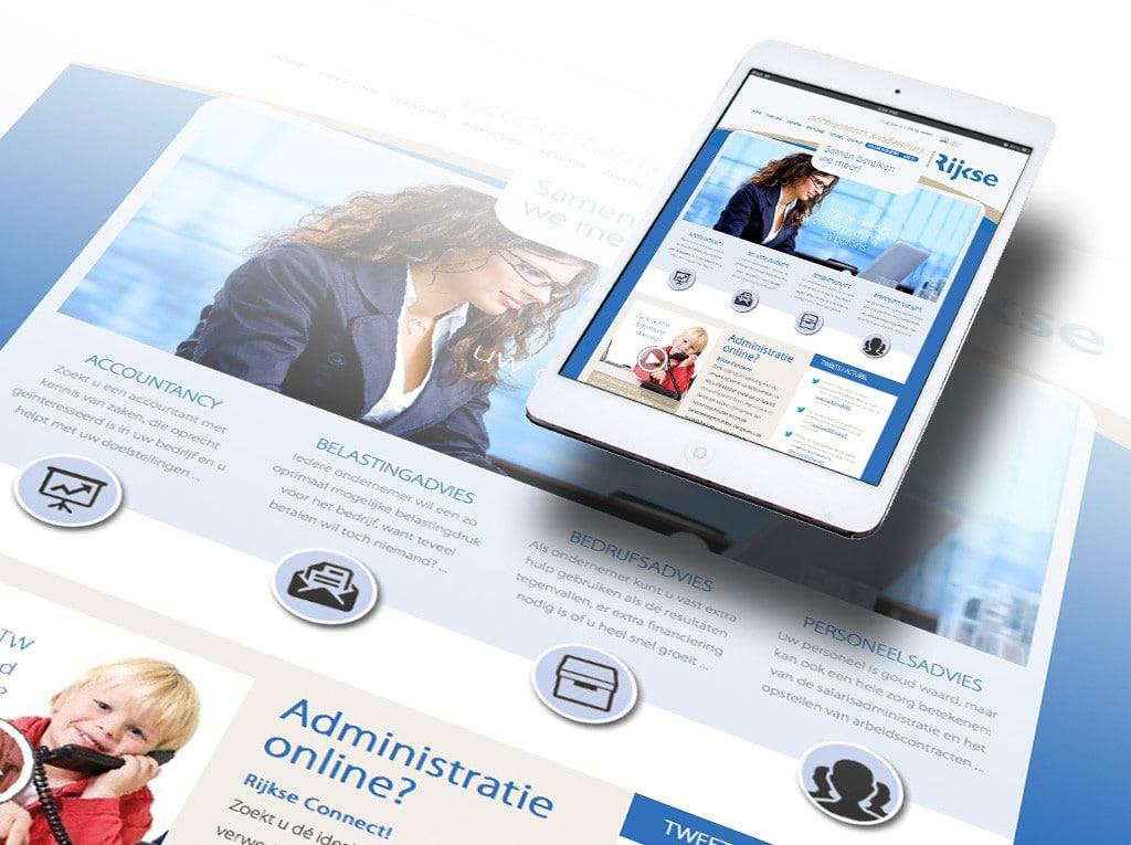 Website De Jonge Johannes door La Dolce Vita Grafische Ontwerp en webdesign uit Zeeland
