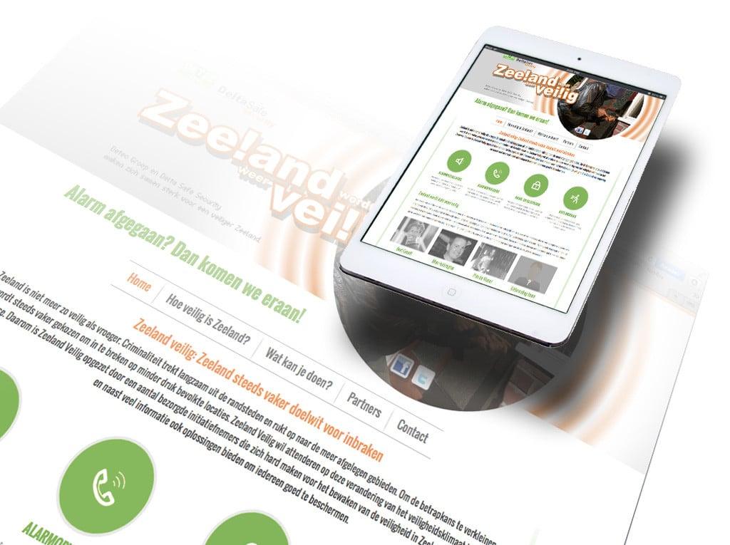 Webdesign Zeeland Veilig