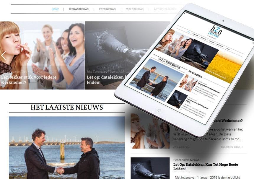 Het Zeeuwse Nieuws – online marketing krant