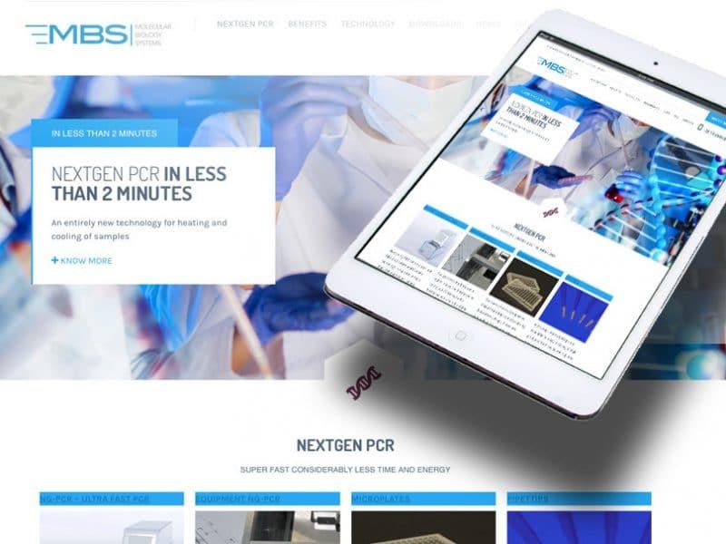 MBS. Webdesign door La Dolce Vita Marketingadvies Zeeland