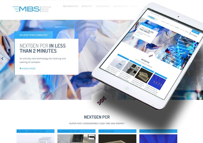 Webdesign MBS