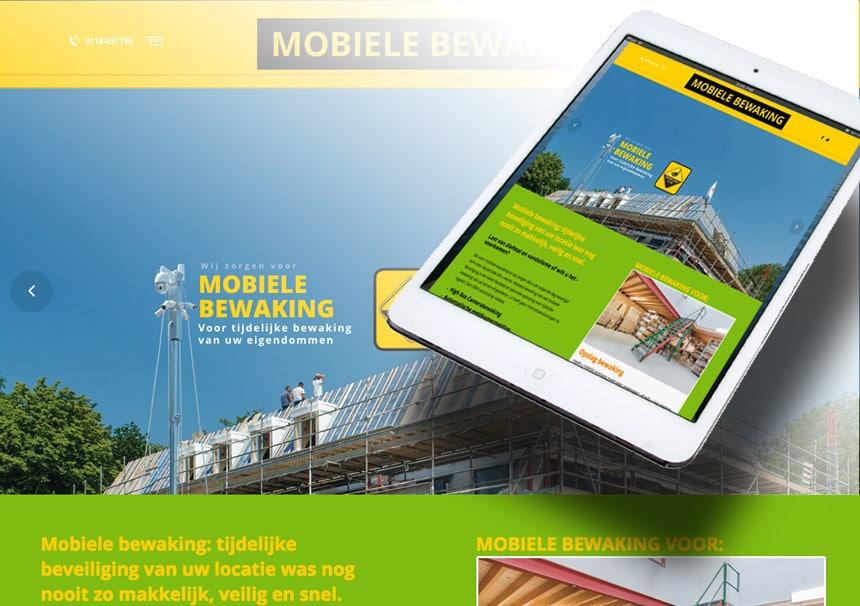 Webdesign Mobiele Bewaking