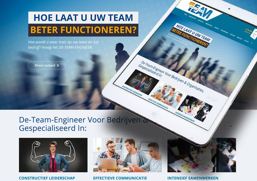 Website De-Team-Engineer