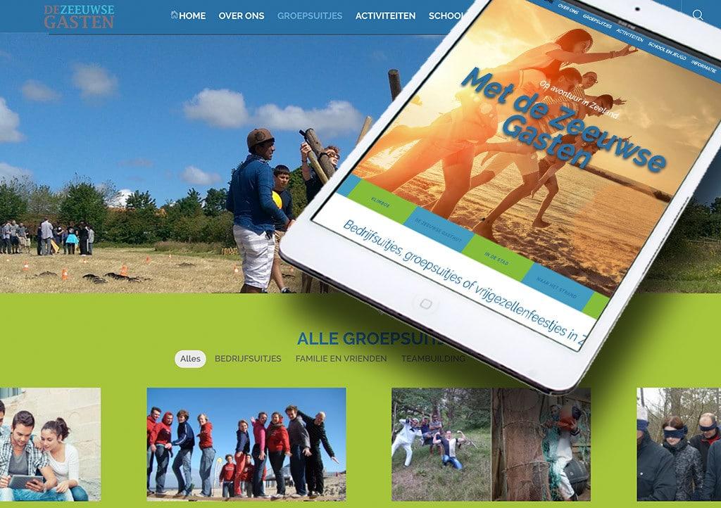 Website De Zeeuwse gasten