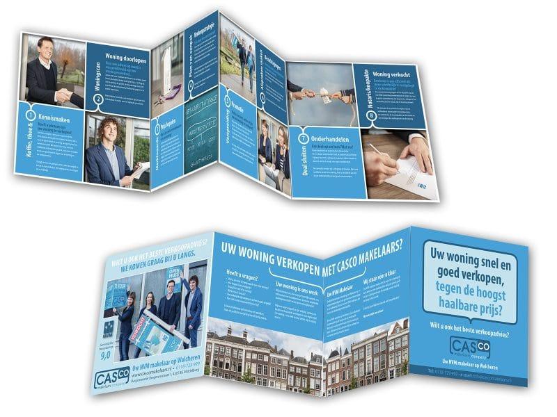 brochure verkoopladder